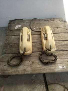 telepon telpon jadul buat hiasan vintage