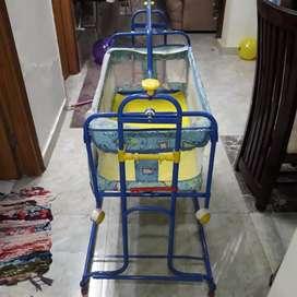 Baby foldable swing cradle jhula