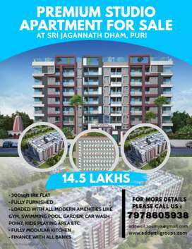 A Premium Fully Furnished Studio Apartment at Puri with all Amenities