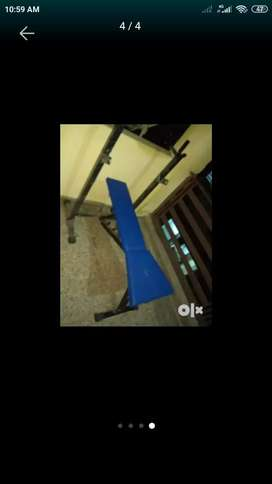 Bench press almost new