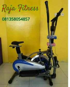Sepeda fitnes murah 5 fungsi bayar dirumah