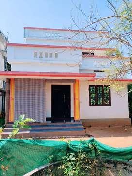 KODANNUR, Thrissur, 6.5 cent, 1500 sqft, 3 BHK, 45 Lakh Negotiable,