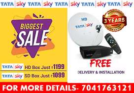 Tata Sky New DTH With 6 Month Free Offer Only Rs. 2469 Dish Tv Tatasky