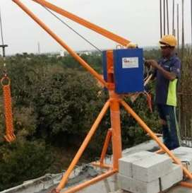 Material lifting machine