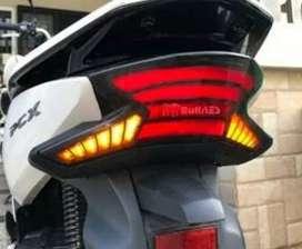 Lampu stop pcx model led barang baru
