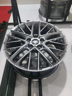 Dijual Velg baru HSR Ring 17 bisa tukar tambah dan nego