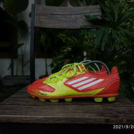 Sepatu Bola Adidas F5 TRX HG Red Yellow