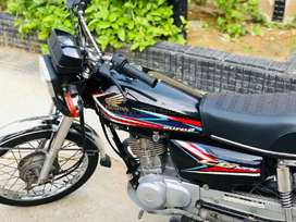 Honda 125 2019 model for sell