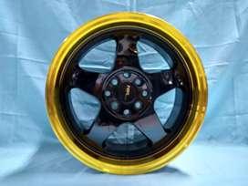 Ready Velg buat Suzuki BALENO LOUD HSR R16X8/9 H8x100/114,3 ET35/30