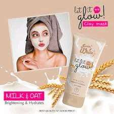 Ever White Masker Wajah Milk And Oat Clay Mask