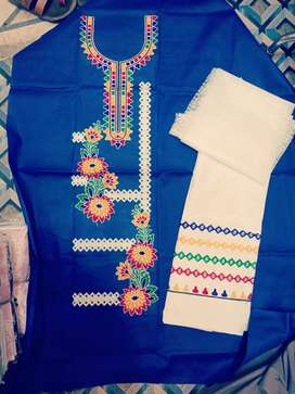 Unstitched Suits for Ladies which is delivered all over Pakistan