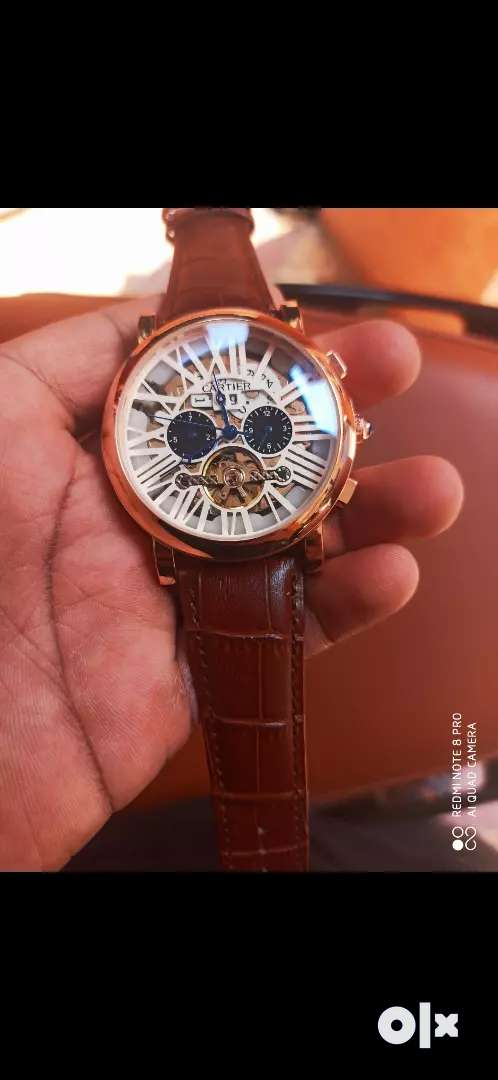 Men's branded automatic watch