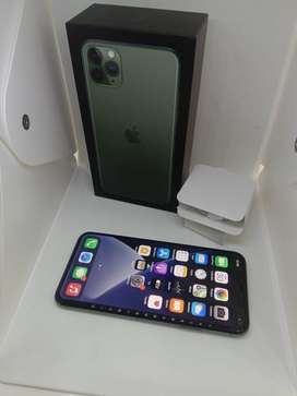 I PHONE 11 PRO MAX 64GB MIDNIGHT GREEN COLOUR WARRANTY AVAILABLE