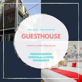 Investasi apartemen kos dan guesthouse sebelah kampus ipb bogor