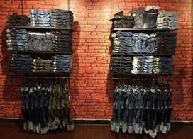 Shop and cloths for sale