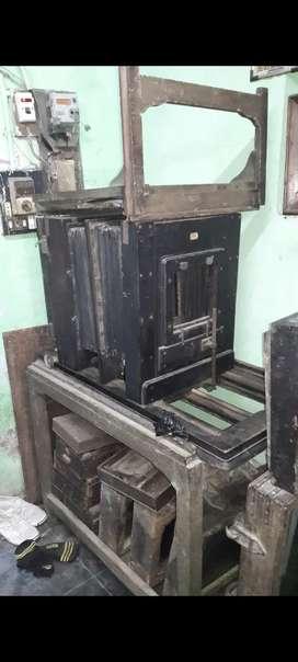 old antique rare vintage wooden big camera of PENROSE & CO. LTD.