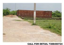 134 SQ YD PLOT 21 BY 33  GOOD FOR LIVING OR INVESTMENT IN DAKARY UNNAO