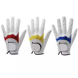 Cabritta leather and artificial leather Golf gloves