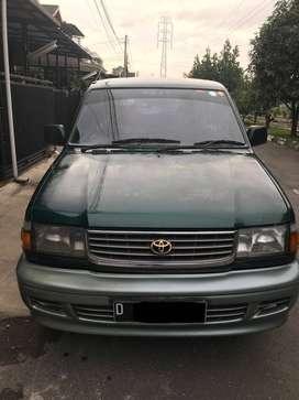 Toyota Kijang Krista Diesel Tahun 1998 Full Orisinil Bandung