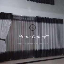 Gorden model bahan blackout minimalis modern custom ukuran. Hg34