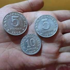 Uang Kuno Set 20 rupiah