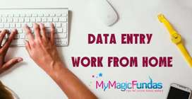 data entry gujranwala males females require for home typing online job
