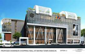 Shops on installments Dominion Shopping Malls Bahria Town Karachi