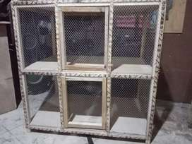 Two portion cage