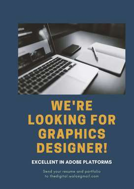 Need a freelancer good graphics designer for branded clients.