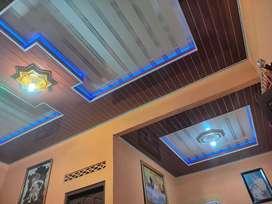 Borongan termurah pasang plafon pvc