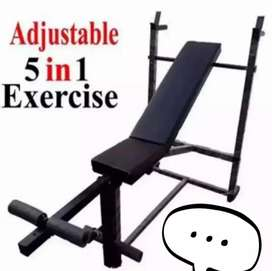 5 in 1 exercise bench pressbody building bench Full power material