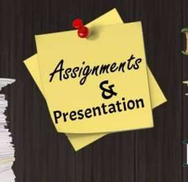 Online Assignments and Presentations Maker