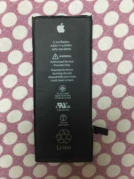 One year old iphone 6S battery orignal (75% battery life)