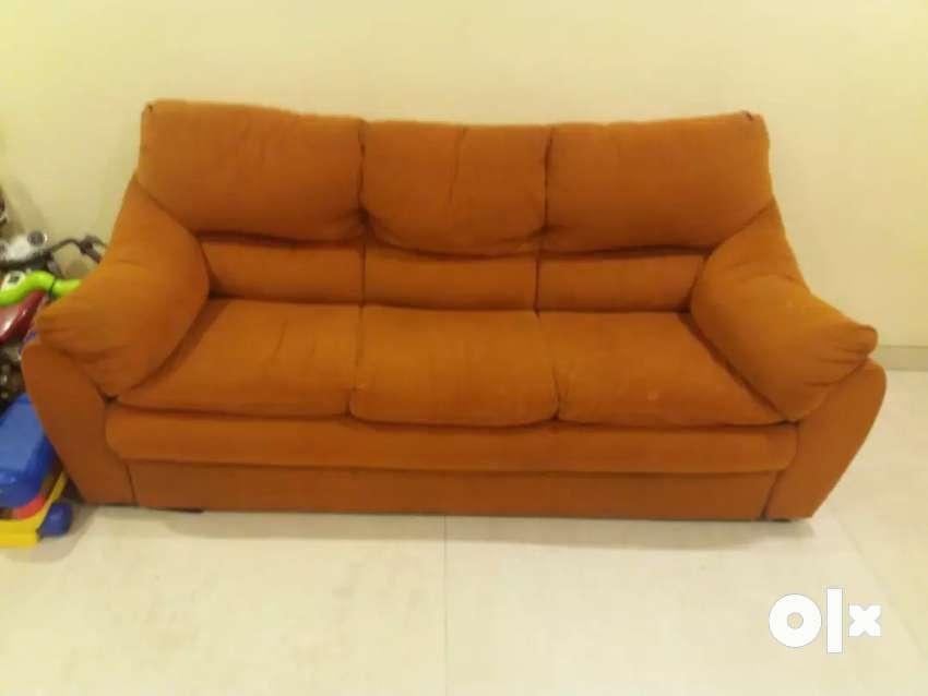 Sofa set 3 + 1+ 1 style spa fabric sofa set 0