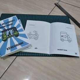 Buku mewarnai anak anak