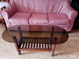 3-seater sofa with coffee table