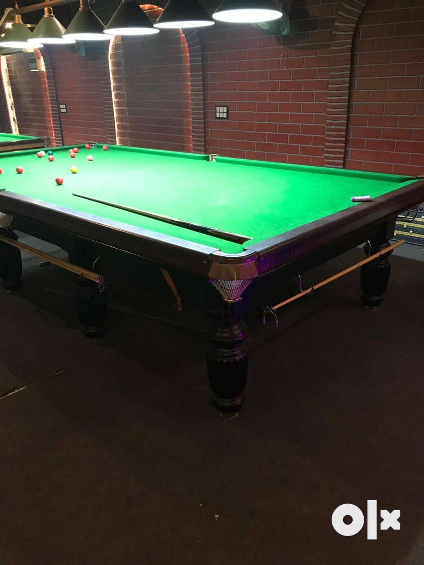 Snooker table with accessories in Indian slates 0
