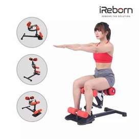 Alat fitnes squat machine