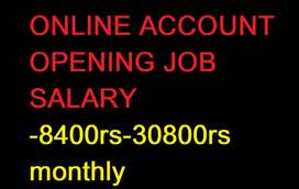 ON FIELD  ONLINE  ACCOUNT OPENING WORK