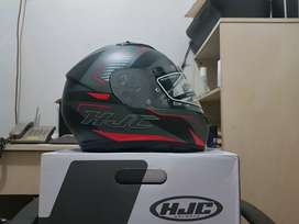 HJC CS-15 Trion Red Size L