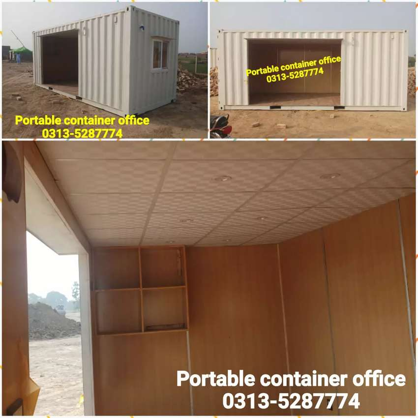 Porta cabin house guard room prefabricated hall container office etc. 0