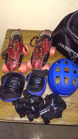 Quad skating shoe