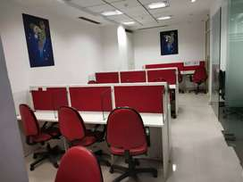 Beauty Full Furnished office space on Golf course Ext Road