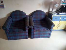 5 To 7 Years old sofa with chairs made by Carpenter at Home