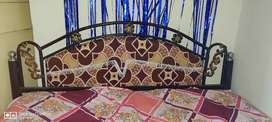 Iron Bed 4 ft by 6 ft