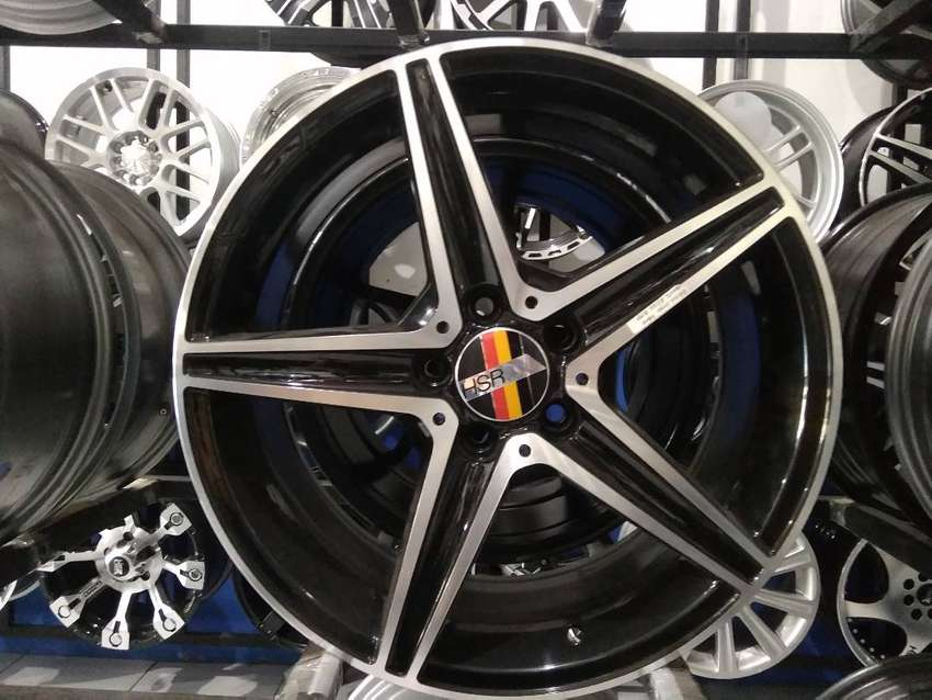 Velg Mobil Mercy Ring 18 HSR Wheel Blegah 0