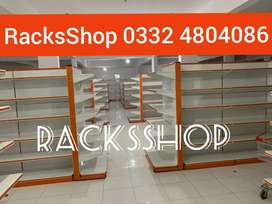 Complete super store racks shopping trolleys counters bin wall rack