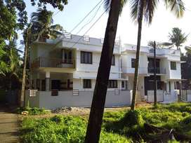 3BHKSemifurnished House in Puthiyakavu,Tripunithura,1450sqft