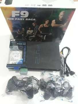 PS2 FAT HARDISK 160GB FULL GAME