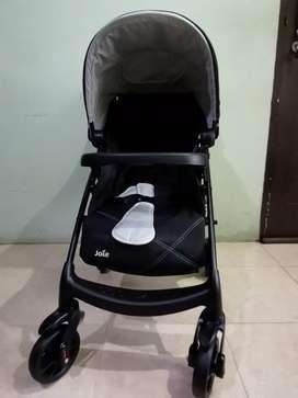 Stroller Joie Muze LX Travel System - Black